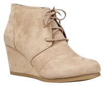 City Classified Beige Boots