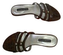 Claudia Ciuti Mango Safari Brown Sandals