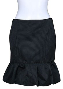 Club Monaco Womens Above Knee Wear To Work Career Skirt Black