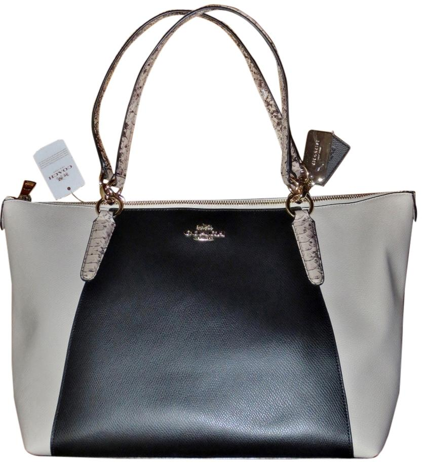 8f19ebeaecf3 ... coupon code for coach exotic python snakeskin chic colorblock classic  casual everyday shoulder bag 42674 2cf85 ...