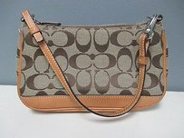 Coach Leather Detail C Baguette
