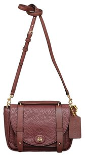 Coach Bleeker Mini Brooklyn Leather Messenger Bag