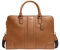 Coach Calf Leather Director Bombe Laptop Bag