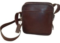 Coach Brown Mahogany Camera Zip Vintage Limited Edition Cross Body Bag