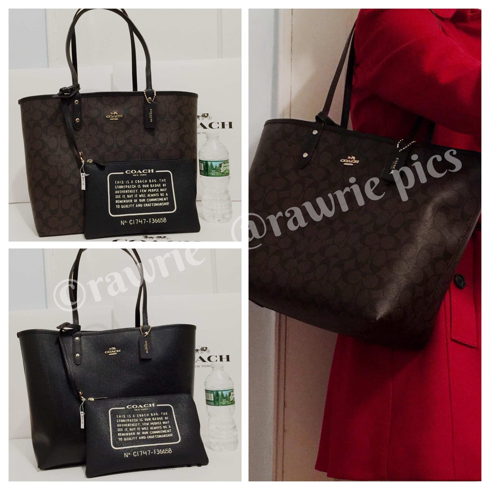 c0f522e5c ... coupon code coach travel oversized large multifunction monogram tote in  signature black brown 98652 03197