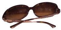 Coach Coach Sunglasses 'TRUDIE' Brown Tortoise-S816-Coach Case Included