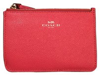 Coach coin purse zip