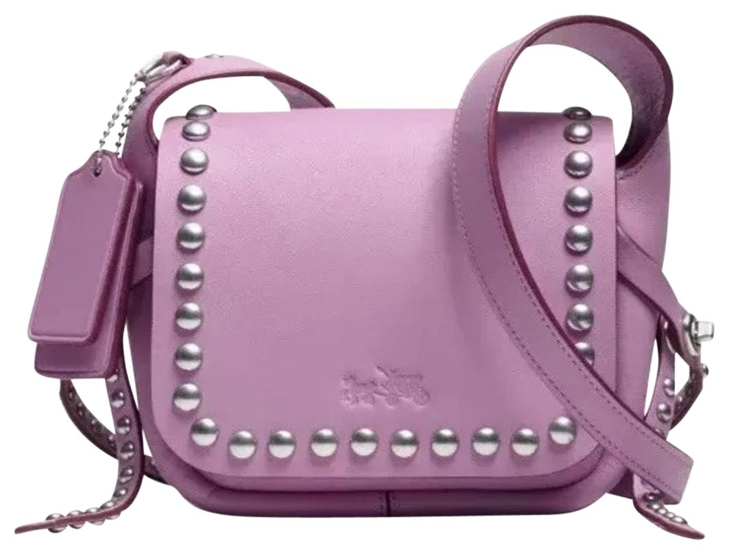 New Zealand Coach Dakotah Rivets Leather Crossbody F1217 7d8db Swagger 20 In Pebbled Peach Rivet 15 B68bd F115a Promo Code Cross Body Bag 3a712 58874