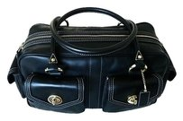 Coach Dooney Chanel Vintage Satchel in Black