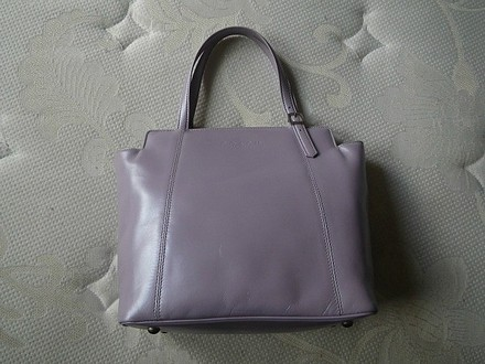 Coach Dooney Bourke Louis Vuitton Gucci Hermes Vintage Satchel in Purple/Lavander