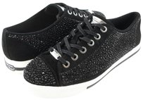 Coach Ian Suede Jeweled Black Athletic