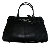 Coach Gucci Louis Vuitton Satchel in Black