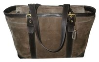Coach Louis Vuitton Dooney Bourke Gucci Channel Rare Vintage Tote in Brown-FLINT