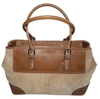 Coach Dooney Bourke Louis Vuitton Rare Satchel in Camel TAN