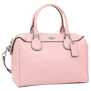 Coach Hard To Find Leather Satchel in petal pink