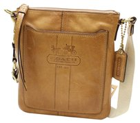 Coach Leather Brown Cross Body Bag