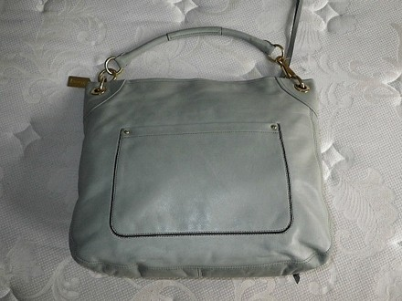 Coach Louis Vuitton Dooney & Bourke Gucci Vintage Tote in Mineral Green