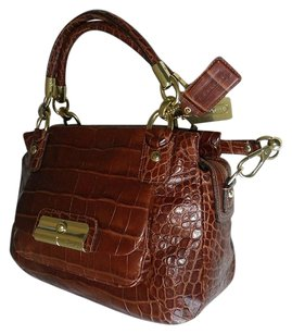 Coach Louis Vuitton Dooney Bourke Satchel in Brown