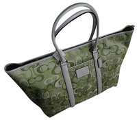 Coach Louis Vuitton Dooney Bourke Green Travel Bag