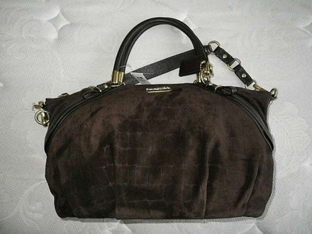 Coach Louis Vuitton Dooney Bourke Gucci Rare Vintage Tote in Brown