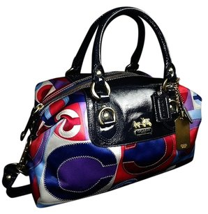 Coach Louis Vuitton Dooney Bourke Gucci Channel Rare Vintage Tote in Multi-Color