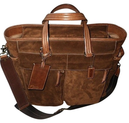 Preload https://item5.tradesy.com/images/coach-ltd-ed-rich-choco-lg-business-travel-draft-brown-suede-leather-trim-tote-817529-0-0.jpg?width=440&height=440