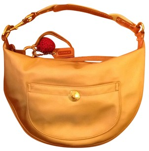 Coach Metallic Hobo Bag