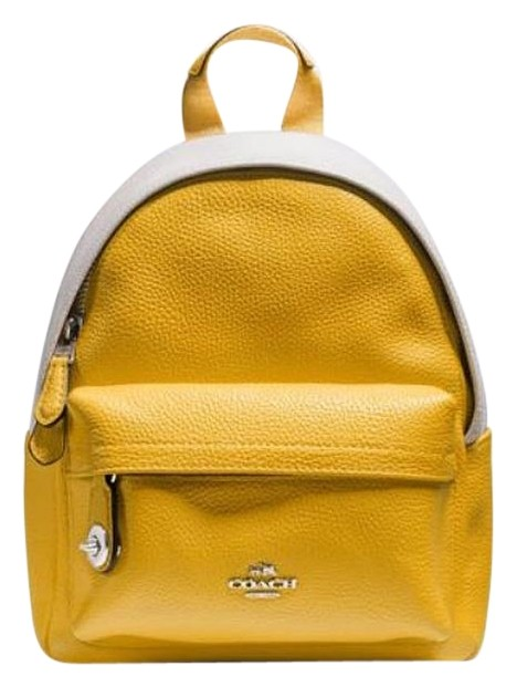 8aa99d7896ae best price coach backpacks bags yellow yellow 7a3b8 589c2