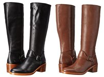 Coach New in Box Black Riding Boots