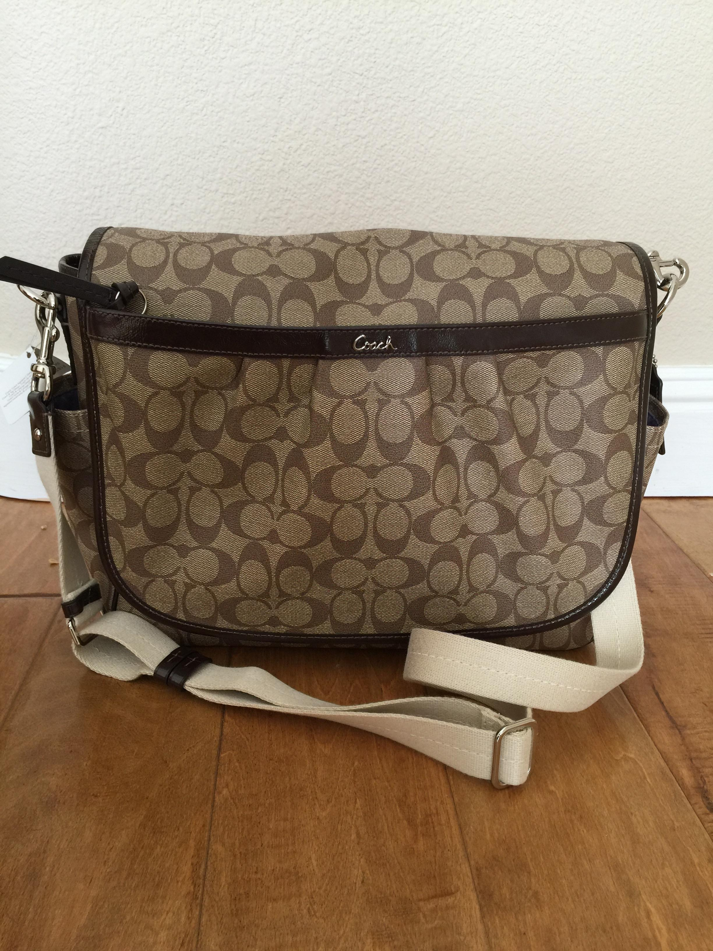 45f7936ff9aa sweden coach canvas messenger baby bag 9a8e1 f8e96