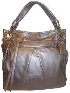 Coach Refurbished Leather Lined X-lg Hobo Bag