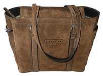Coach Dooney Bourke Gucci Chanel Louis Vuitton Rare Tote in Brown