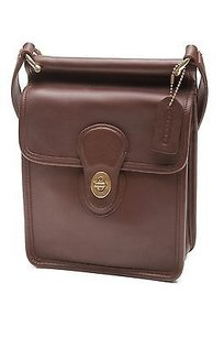Coach Leather Willis Satchel in Mahogany (Brown)