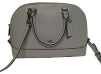 Coach Satchel in Mint MINI