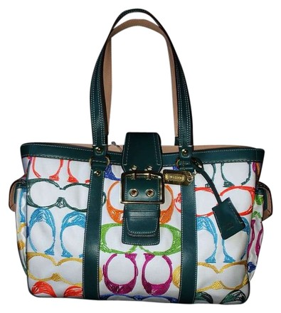 Preload https://item5.tradesy.com/images/coach-scribble-large-multi-color-signature-stitched-fabric-leather-satchel-396339-0-0.jpg?width=440&height=440