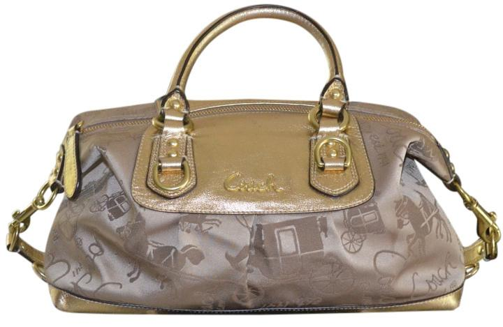 coach shoulder bag outlet 8nnt  Coach Limited Edition Ashley Horse & Carriage Handbag Shoulder Bag outlet