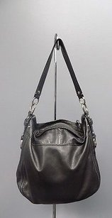 Coach Zoe Soft Leather Lined Silver Hardware B3383 Shoulder Bag