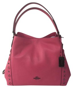 Coach 37700 Edie Leather Shoulder Bag