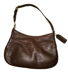 Coach Small Leather Shoulder Bag