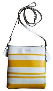 Coach Sunglow Canvas Swingpack Cross Body Bag