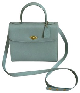 Coach Tote in Sea Blue