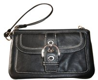 Coach Soho Wristlet in Black