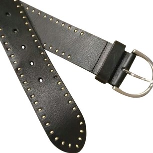 Coldwater Creek Stitched Leather Belt