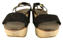 Cole Haan Womens Wedges Black Platforms
