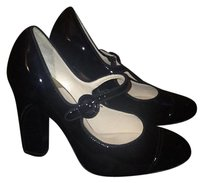 Cole Haan Black/Patent Leather Pumps