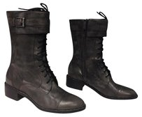 Cole Haan Dark Leather Gray Boots
