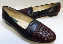 Cole Haan Italy Brown Black Flats