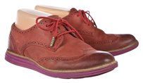 Cole Haan Womens Oxfords Red Flats