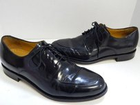 Cole Haan D Nike Air Black Leather Oxford Dress Shoes