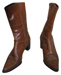 Colin Stuart 7.5 Leather Brown Boots